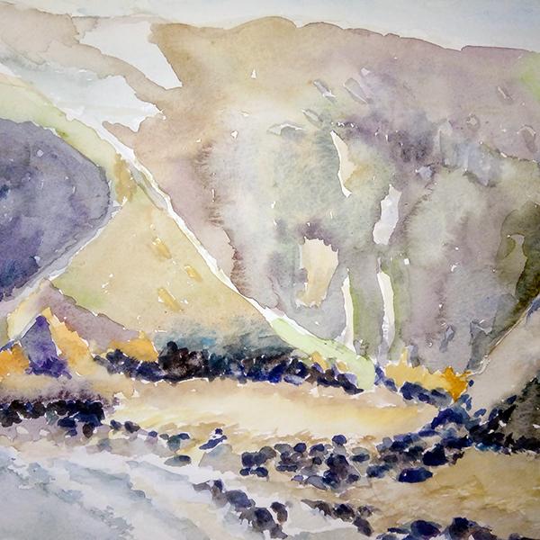 Cliffs at Trevaunance Cove